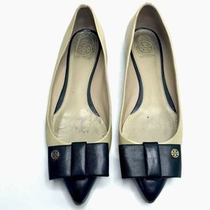 Tory Burch Ballet Flats Pointed Bow